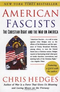 Chris Hedges book cover on American Fascism