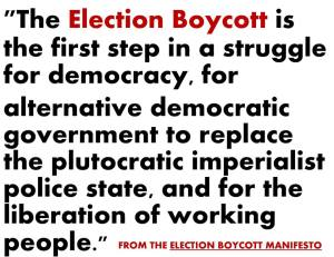 Election Boycott purpose image