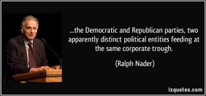 Ralph Nader--two party scam