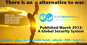 David Swanson--Book, alternative to war