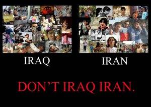 Swanson--Don't Iraq Iran