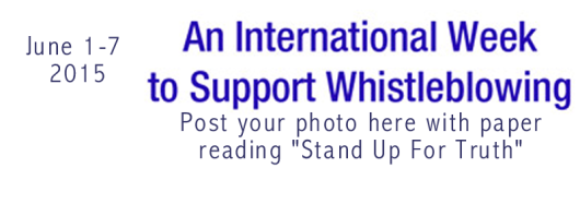 Whistleblowing--International Week
