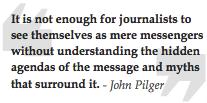 John Pilger quote